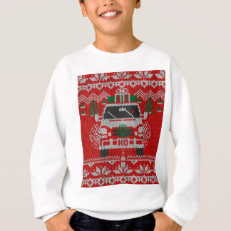 Red Nosed Holiday Road Driver Ugly Sweater Style