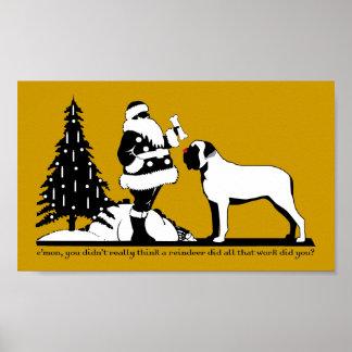 Red-Nosed Mastiff Poster