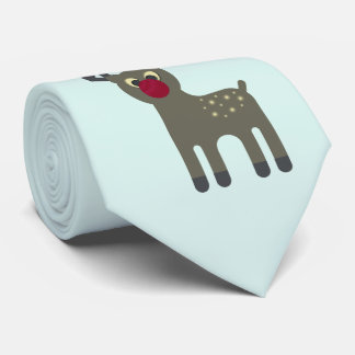 Red Nosed Reindeer Tie