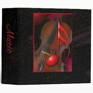 Red Note Binder