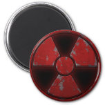 Red Nuke Magnets