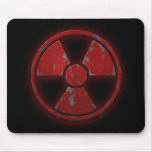 Red Nuke Mouse Pad