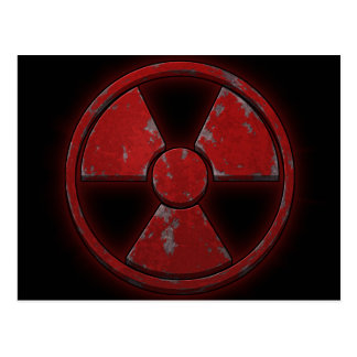 Red Nuke Postcard