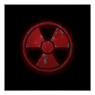 Red Nuke Poster