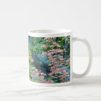 Red oak, beech and staghorn sumac, Gatineau Park, Classic White Coffee Mug