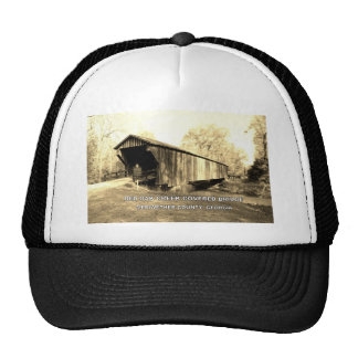 RED OAK CREEK COVERED BRIDGE TRUCKER HAT