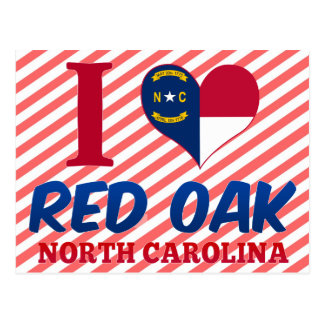 Red Oak, North Carolina Postcard