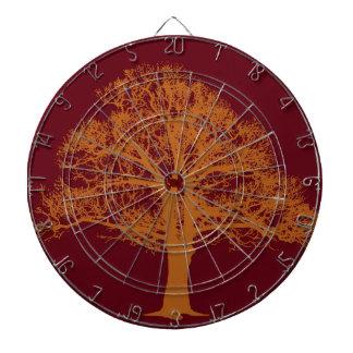 Red Oak Tree Dart Board