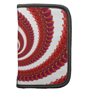 Red Octo Spiral Folio Planner