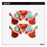 Red Octopus Design.. PS3 Controller Skins