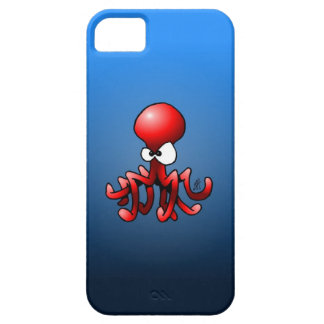 Red octopus iPhone SE/5/5s case