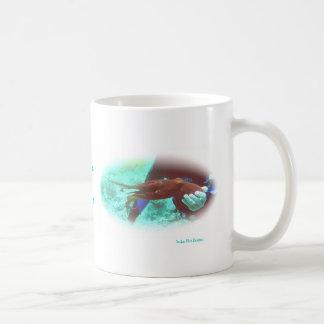 Red Octopus Mug
