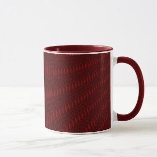 Red Octopus Tentacles Mug