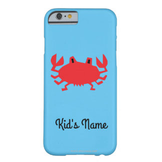 Red of sea crab barely there iPhone 6 case