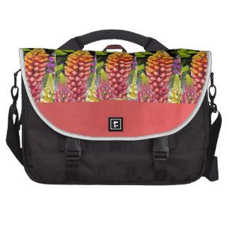 Red Oil painted wall print n Flower Strip Gift bi Bag For Laptop