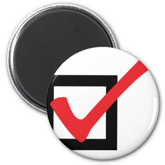 red OK icon Magnet