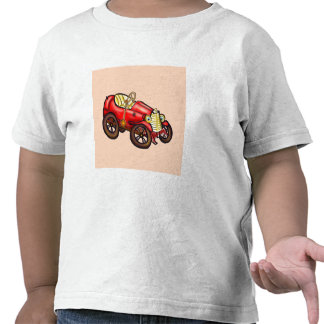 Red old car t shirts