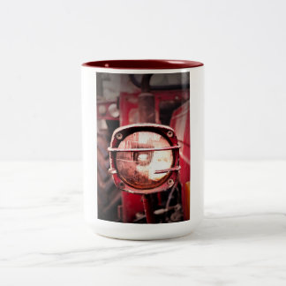 Red Old Tractor Mug