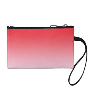 Red Ombre Change Purses