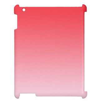 Red Ombre iPad Case