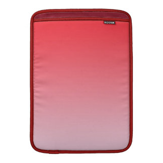 Red Ombre MacBook Sleeves