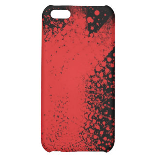 red on black cover for iPhone 5C