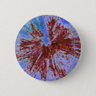 Red on Purple and Blue Paintball Button