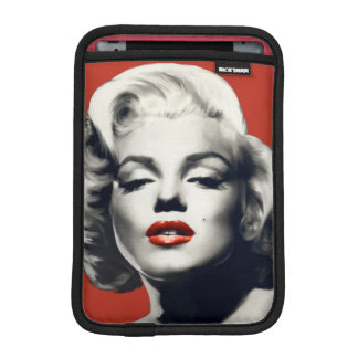 Red on Red Lips Marilyn iPad Mini Sleeve