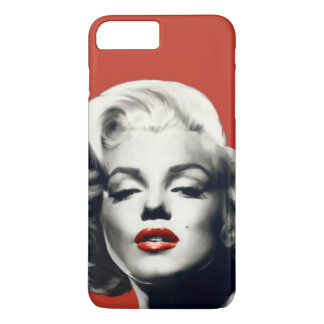 Red on Red Lips Marilyn iPhone 8 Plus/7 Plus Case