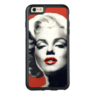 Red on Red Lips Marilyn OtterBox iPhone 6/6s Plus Case