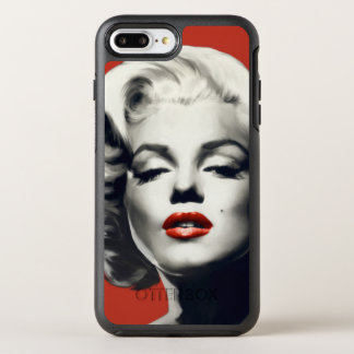 Red on Red Lips Marilyn OtterBox Symmetry iPhone 7 Plus Case