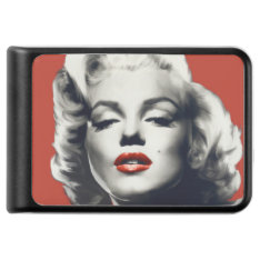 Red On Red Lips Marilyn Power Bank at Zazzle