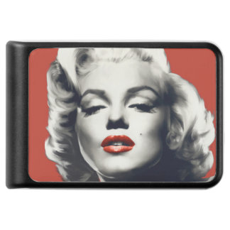 Red on Red Lips Marilyn Power Bank