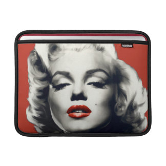Red on Red Lips Marilyn Sleeve For MacBook Air