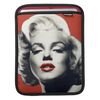 Red on Red Lips Marilyn Sleeves For iPads
