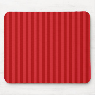 Red on Red Pattern Stripes Mouse Pad