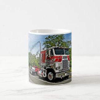Red on Silver COE Mug