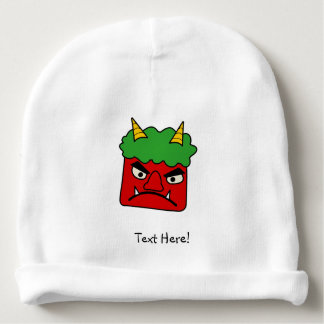 Red Oni Baby Beanie