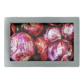 Red Onion Belt Buckle