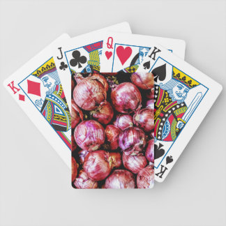 Red Onion Bicycle Playing Cards