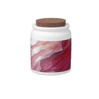 Red Onion Candy Jar