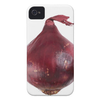Red onion  isolated on white background, DFF Case-Mate iPhone 4 Case