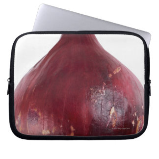 Red onion  isolated on white background, DFF Computer Sleeves
