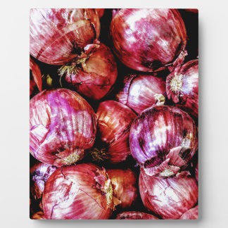 Red Onion Plaque