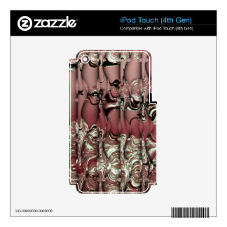 Red Ooze iPod Touch 4G Skins