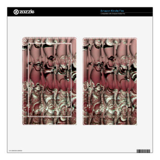 Red Ooze Kindle Fire Skin