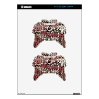 Red Ooze Xbox 360 Controller Skin