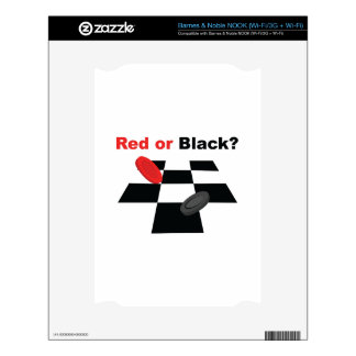 Red Or Black Skin For The NOOK