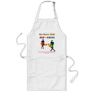 Red or Green Long Apron