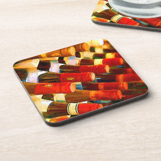 Red or White Beverage Coaster